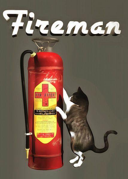 Chats: Pompier sur Jan Keteleer