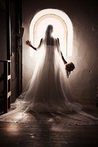 Bruid en raam van