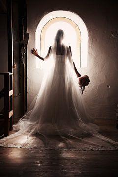 Bruid en raam sur PAM fotostudio