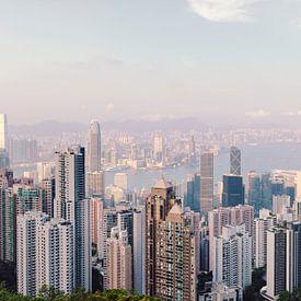 Hong Kong Skyline van Pascal Deckarm