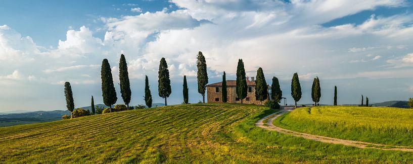 Agriturismo I Cipressini - Pienza - Toscane van Teun Ruijters