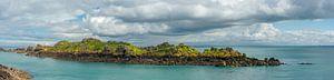 De granietrotsen bij Cancale (Bretagne, Frankrijk)