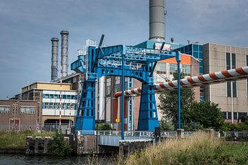 Magnifique pont industrialo-portuaire à Utrecht