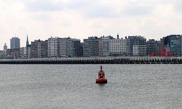 Blick auf Oostende von Annie Postma