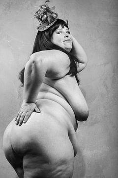 Sehr schöne glückliche nackte Frau... #D8866 von william langeveld