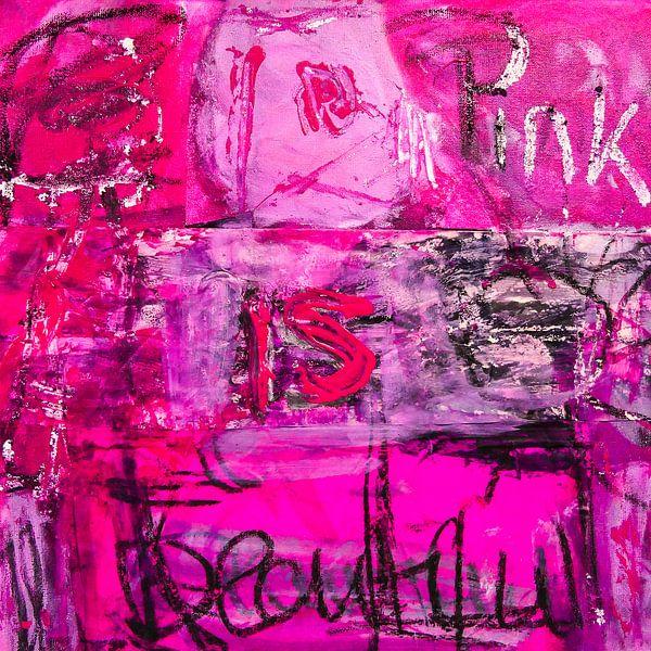 Pink is beautiful von Gabi Hampe
