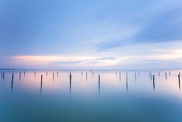 Haventje aan het Ijsselmeer sur Elroy Spelbos