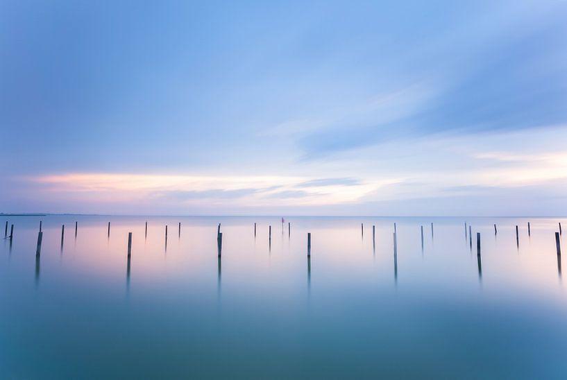 Haventje aan het Ijsselmeer van Elroy Spelbos