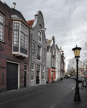 Grachtenpanden in Utrecht van Kim de Been