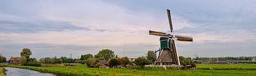 Wingerdse molen (Bleskensgraaf) van Leo Huijzer