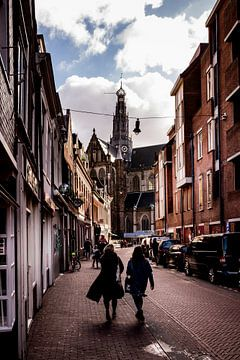 Smedestraat Haarlem van Bart Veeken