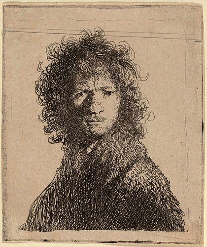 Rembrandt van Rijn, Selbstbildnis von Rembrandt van Rijn