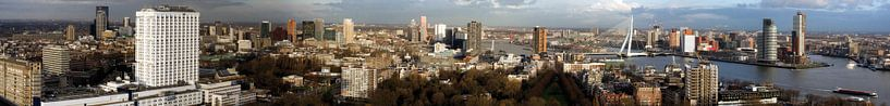 Panorama Rotterdam von Patrick de Joode