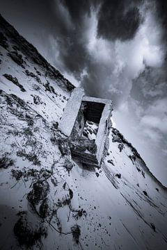 Texel Fotobeton mit einer Wolke von Natuurlijk schoon