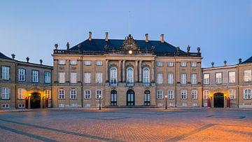 Amalienborg, Copenhague, Danemark sur Henk Meijer Photography