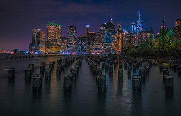 Skyline Manhattan van