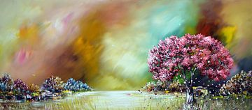 Farbenfrohe Natur von Gena Theheartofart