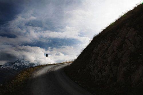Uitzicht  bergen Oostenrijk van