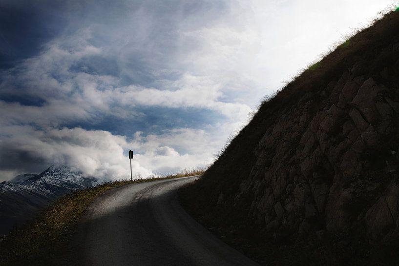 Uitzicht  bergen Oostenrijk van Marloes Bogaarts
