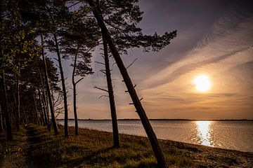 Zonsondergang op het strand van Sebastian Witt
