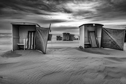Rustiek strand van