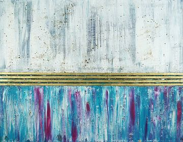 # 19 Acryl auf Keilrahmen,  70 x 90 cm van Erich Keller
