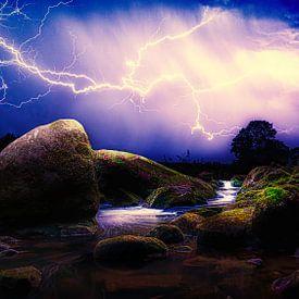 Thunderstorm van Michel Jansen
