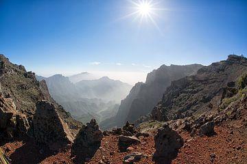 Bergwelt auf La Palma von Angelika Stern