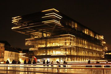 De Krook in Gent bij nacht van Daan Duvillier