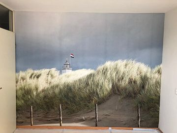 Klantfoto: Vuurtoren Noordwijk van Hans Vink