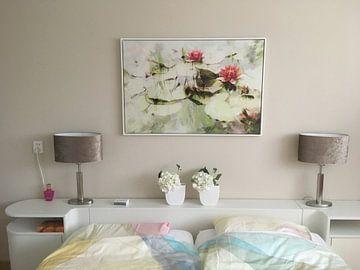 Kundenfoto: Rosa Seerosen von Paula van den Akker