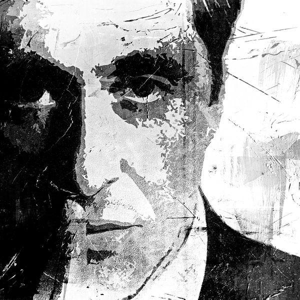 Al Pacino - The other Godfather - black and white von PictureWork - Digital artist