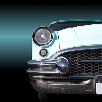Amerikaans Klassieke auto Century 1955 van