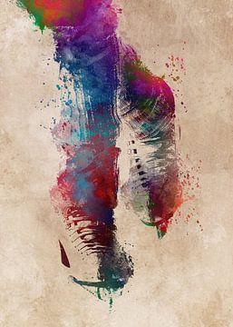 kunstschaatsen #figuurschaatsen #sport van JBJart Justyna Jaszke