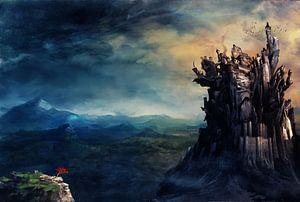 Gormenghast castle van