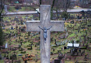 Cemetery Vilnius van Julian Buijzen