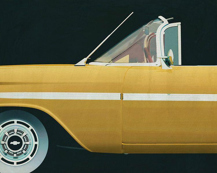 Chevrolette Impala 1959 van Jan Keteleer