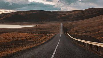 IJslandse weg van Thomas Heitz