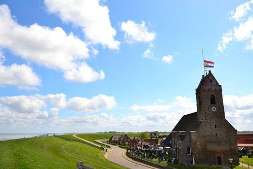 Museumkerk Wierum, opnamelocatie Hollands Hoop.