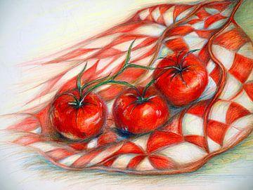Rote Tomaten von Ineke de Rijk