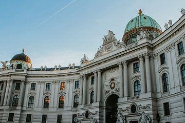 Hofburg Imperial Palace in Wenen, Oostenrijk | Kleurrijke reisfotografie van Trix Leeflang
