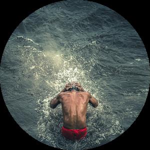 Heilig bad in de Ganges van Edgar Bonnet-behar