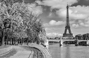 Onderweg naar de Eiffeltoren van