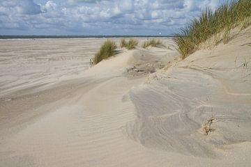 Structuren in het zand van Tiny Hoving-Brands
