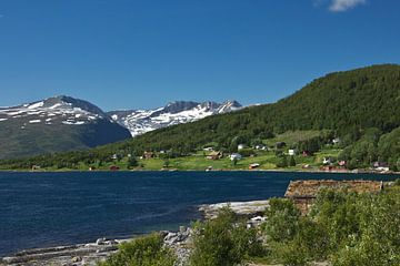 Hütte auf Kvaløya von Anja B. Schäfer