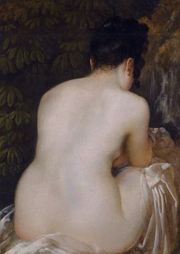 Nackt auf dem Rücken von Atelier Liesjes