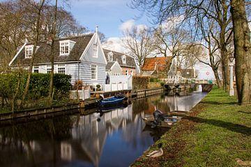 Dorpsgezicht Broek in Waterland sur Charlene van Koesveld