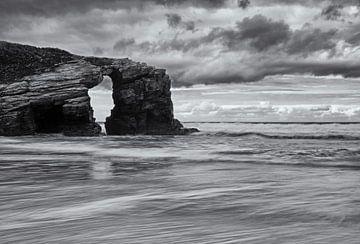 Playa de las Cathedrales Asturië Spanje von Miranda Bos