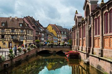 Bunte Canal in Colmar | Klein-Venedig (Frankreich) von Melvin Fotografie