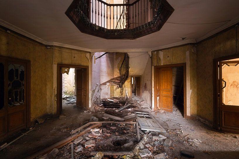 Broken Treppenhaus. von Roman Robroek